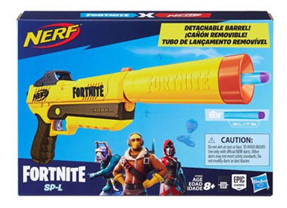 Pistola Nerf Elite Fortnite Sp-l
