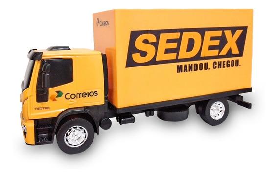 Caminhão Brinquedo Personalizado Correios Baú Miniatura
