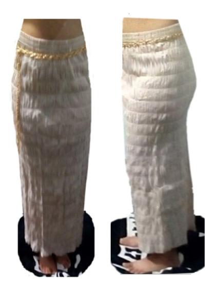 Faldas Largas Indú De Talla Estandar, Incluye Hermosa Correa