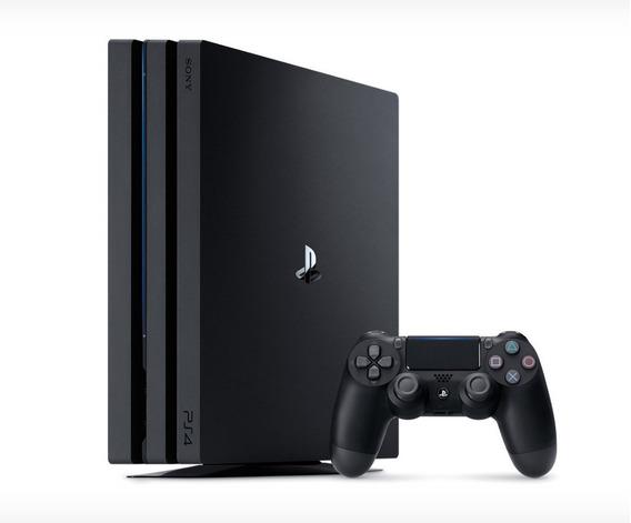 Playstation 4 Pro 1tb 4k Hdr Sony Ps4 Novo Na Caixa