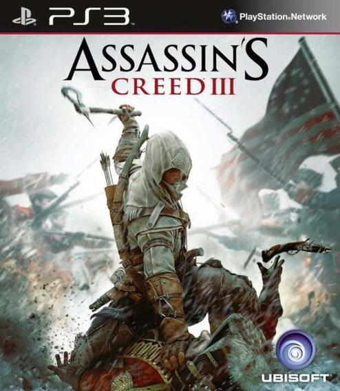 Assassins Creed 3 Ps3 Psn Português