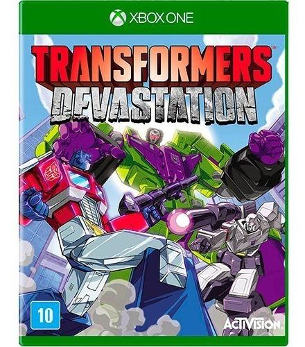 Xbox One Transformers Devastation Mídia Física