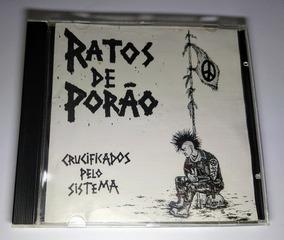 Cd Ratos De Porão Crucificados Pelo Sistema Ed. Portuguesa
