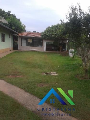 Imagem 1 de 26 de Vendo Chácara No Bairro San Martin I Itatiba/sp Com 1.000 M² Casa 2 Dormitórios Sendo 1 Suíte. - Ch00066 - 34440817