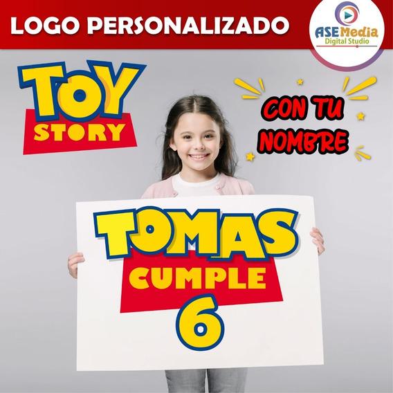 Toy Story | Logo Personalizado Imprimible + Regalo
