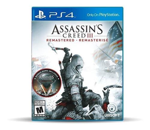 Assassin's Creed 3 Remastered (nuevo) Ps4 Físico, Macrotec