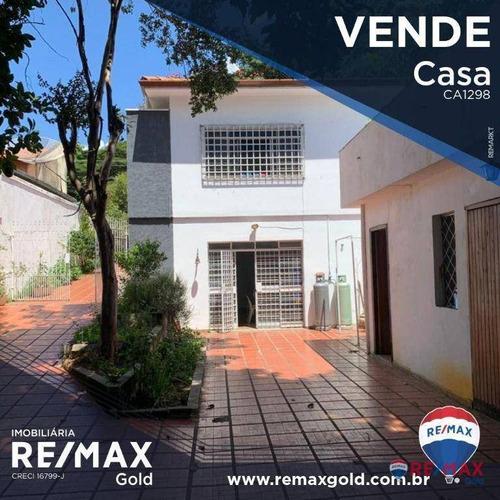 Casa Com 4 Dormitórios À Venda, 360 M² Por R$ 1.600.000,00 - City Lapa - São Paulo/sp - Ca1298