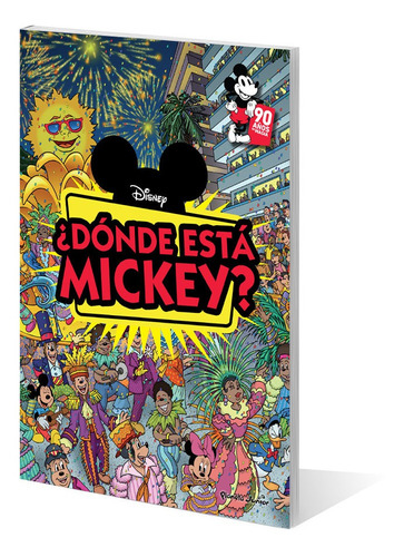 Imagen 1 de 6 de Mickey Mouse. ¿dónde Está Mickey? De Disney - Planeta Junior