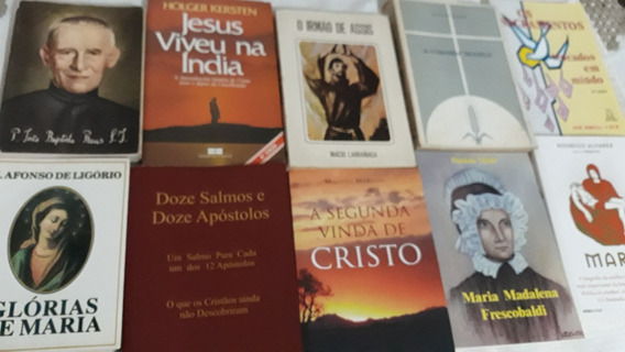 Lote 11 Livros Religião Vários Autores-leia Descrição