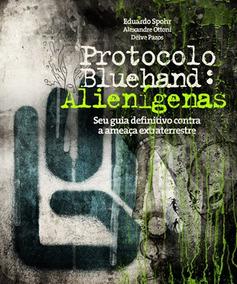 Livro Protocolo Bluehand Alienígenas Semi Novo
