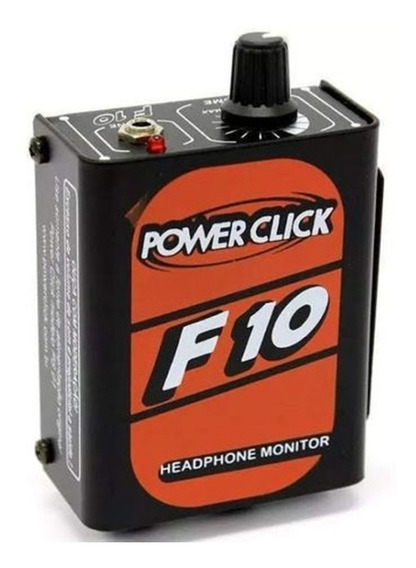 Power Click F 10 Monitor Individual Com Fonte