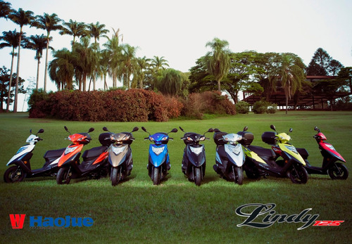 Haojue Lindy 125 0km 2022 Várias Cores - Moto & Cia