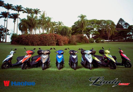 Haojue Lindy 125 0km 2019 Várias Cores - Moto & Cia