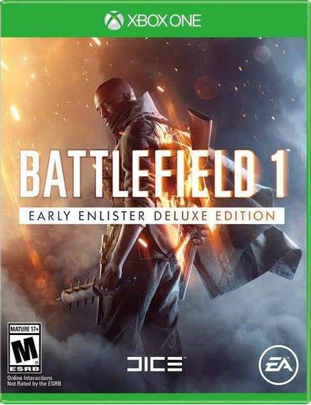 Battlefield 1 Early Enlister Deluxe Edition Xone Cod 25 Dig