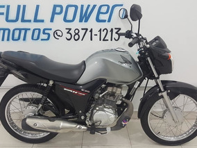 Honda Cg Fan 125 Ks Cinza 2015