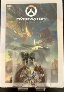 Overwatch Reinhardt Llavero Pop Comic Book Blizzard