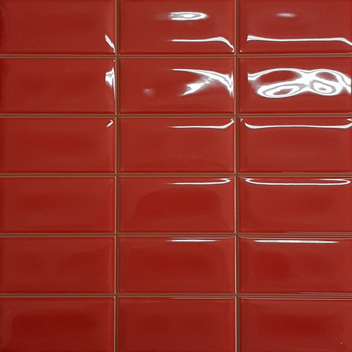 Cerámica Europea 31.6 X 31.6 Space Brillo Rojo