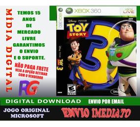Toy Story 3 Mídia Digital 360 E One Roraima Games