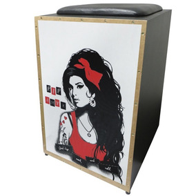 Cajon Jaguar Amy Winehouse Acústico (cor004)