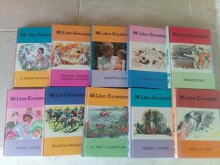 I7 Mi Libro Encantado- Enciclopedia Infantil 10 Tomos- 1985