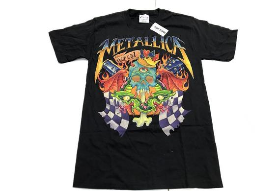 Playera Grupoo Musical Metallica Tatoo Skull Hottopic