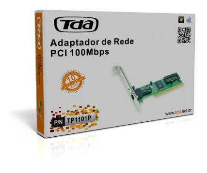 Placa De Rede Tda Pci 10/100 Tp1101p