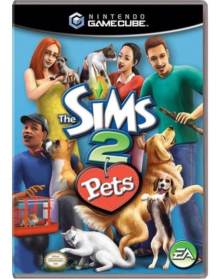 The Sims 2 Pets Gc Gamecube Mídia Física Pronta Entrega