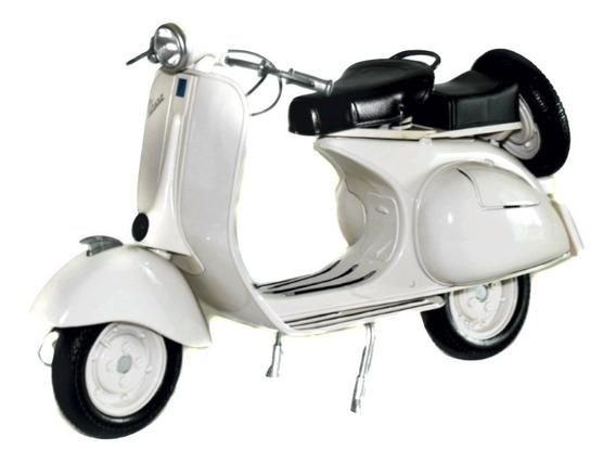 Moto Vespa 150 Newray Metal Colleccion Escala 1/6