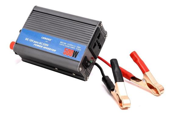 Inversor Transformador Conversor 500w Veicular 12v 220v 507a