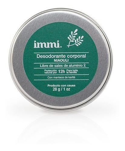 Desodorante Immi Mini Niaouli Libr Aluminio Triclosan Vegano
