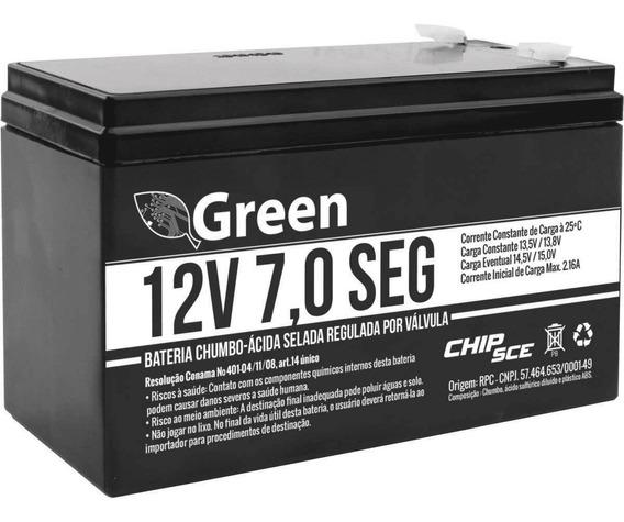 Bateria Selada 12v 7ah Alarme Cerca Eletrica Nobreak Fontes
