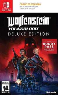 Nintendo Switch Wolfenstein Young Blood Deluxe. Fun Labs