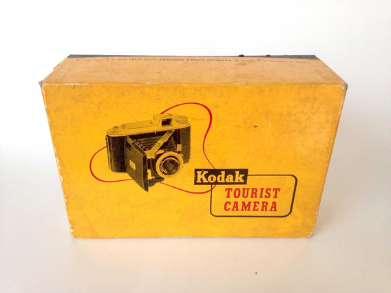 Camera Fotográfica Antiga Kodak Tourist Shutter Kodet Lens