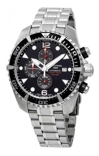 Relógio Suíço Certina Action Diver Cronógrafo Automatico Aço