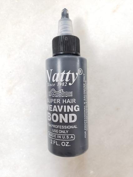Super Cola Natty Bond Cabelo Extensão Cílios Mega Hair 60 Ml