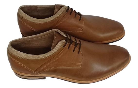 Zapato Hombre Oxfords Cuero Vacuno
