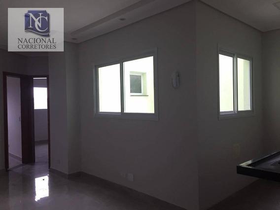 Apartamento Com 2 Dormitórios À Venda, 42 M² Por R$ 240.000,00 - Vila Francisco Matarazzo - Santo André/sp - Ap8577