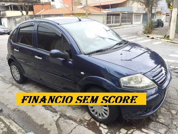 Citroen C3 2006 Financio Sem Core Entrada Baixa No Cartao