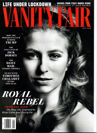 Vanity Fair Revista - Royal Rebel Princess Anne