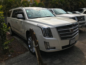 Cadillac Escalade Esv 6.2 Platinum At 2015