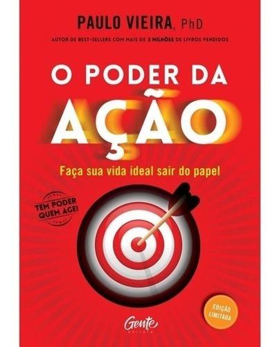 Livro O Poder Da Ação - Edição Luxo - Paulo Vieira
