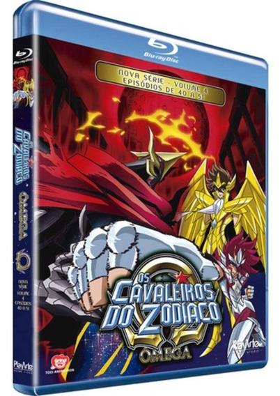 Os Cavaleiros Do Zodíaco - Ômega - Vol.4 - Blu-ray - Novo