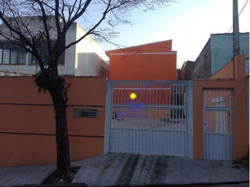Sobrado  Residencial À Venda, Vila Antonieta, São Paulo. - So0195