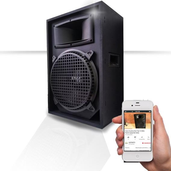 Caixa Acústica Som Top 12 Profissional 600w Passiva Igreja
