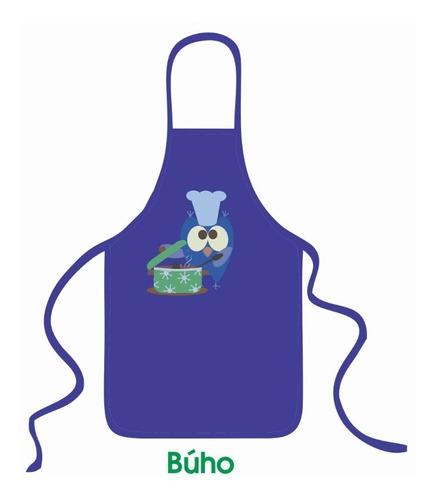 Delantal Estampado Para Niños Mini Chef | Vinilo Design