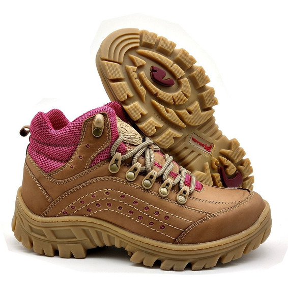 Bota Feminina Adventure Bmbrasil Working Casual 5400