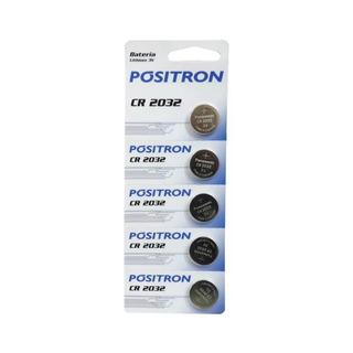 Baterias Cr2032 3v Pósitron De Controles 5 Unidades Original