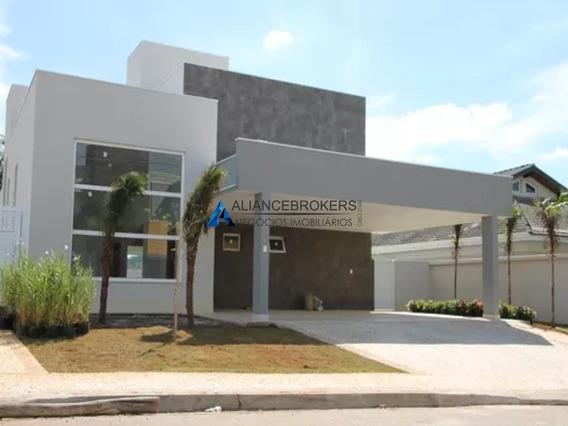 Casa Nova Com 3 Dormitórios, Planta De 292 M², Terreno C/ 720 M², Cond. Reserva São Carlos - Ca01305 - 33818361