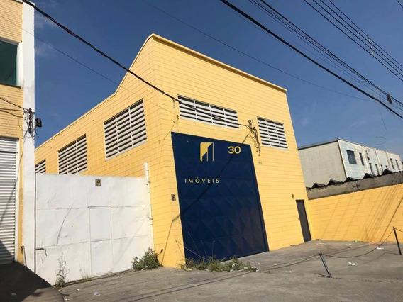 Galpão Para Alugar, 500 M² - Vila Nova Cumbica - Guarulhos/sp - Ga0536