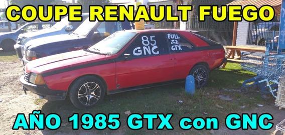 Coupe Renault Fuego Año 1985 Con Gnc